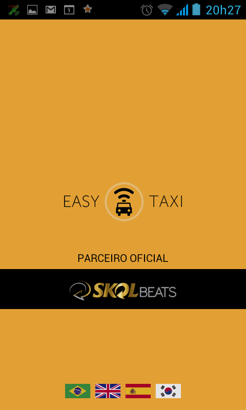 EASY TAXI - VERSÃO DO TAXISTA - screenshot