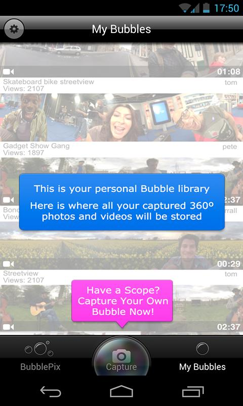 BubblePix 360 Pano- screenshot