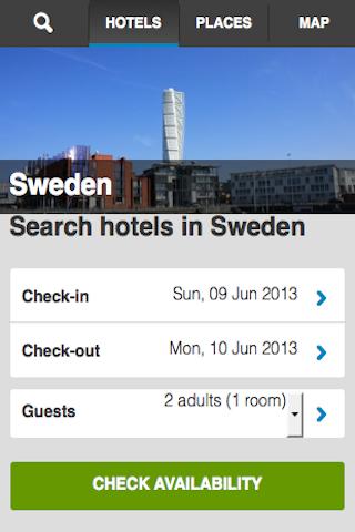 Sweden Hotels Booking Cheap