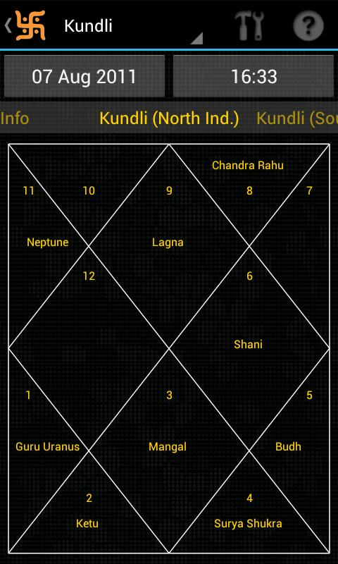 Hindu Calendar - screenshot