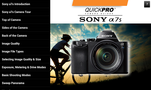 Guide to Sony a7s