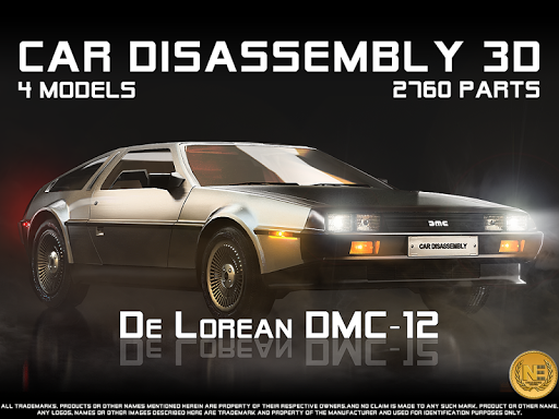 Car Disassembly 3D image   9