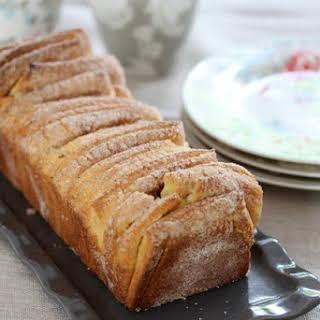 Cinnamon Brioche Loaf.