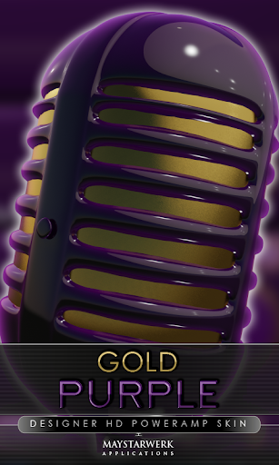 金紫 poweramp 皮膚