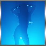 Blue Dancing Girl