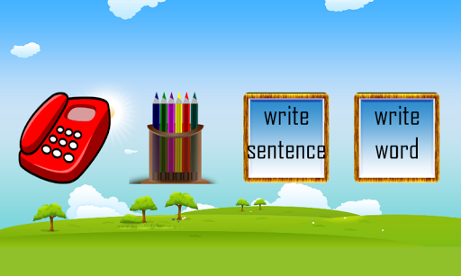 Write English Words