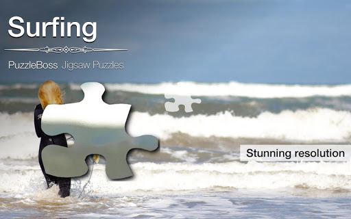 Surfing Jigsaw Puzzles Demo