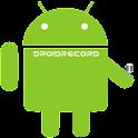 DroidRecord logo