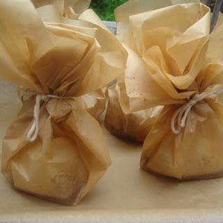 Stuffed Pears en Papillote