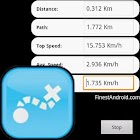 Quick GPS distance meter free icon