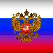 Russian Coat Flag LWP 3D