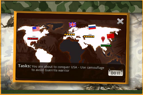 Nations At War - screenshot