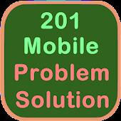 201 Mobile Problem & Solution