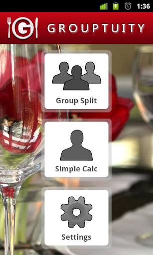 Grouptuity Tip Calculator