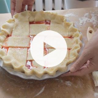 Strawberry-Basil Pie