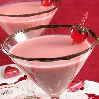 Chocolate Covered Cherry Martini.