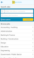 Screenshot of Job Search - CTgoodjobs