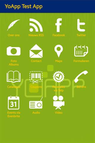 YoApp Test App
