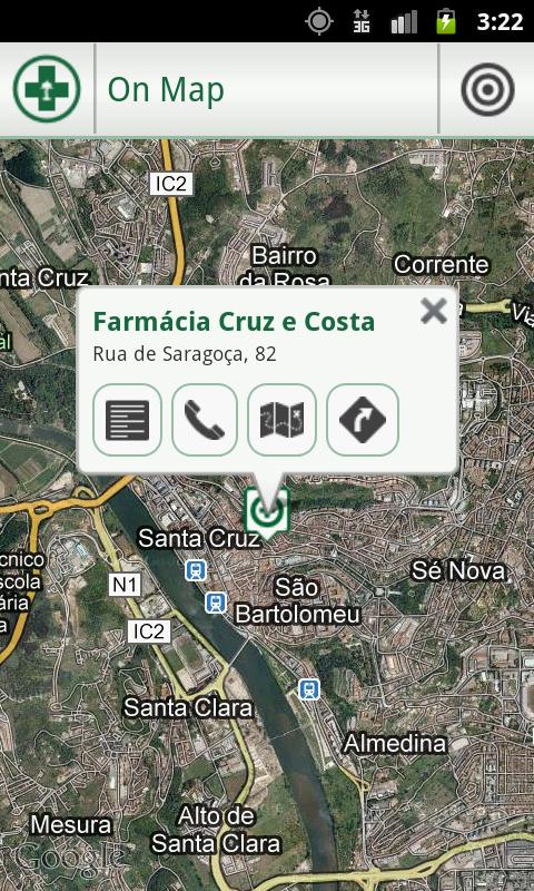 Pharmacies Portugal - screenshot