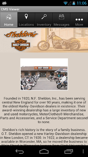 Sheldon's Harley-Davidson