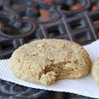 Easy Roasted Almond Cookies.