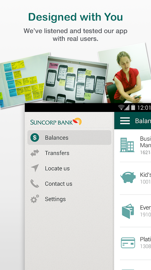 Suncorp Bank - screenshot