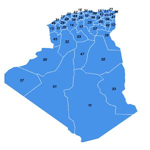 DZ-WilayaMap
