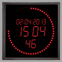 LED Ring Clock icon
