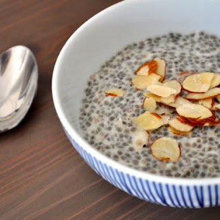Coconut Almond Chia Seed Pudding.