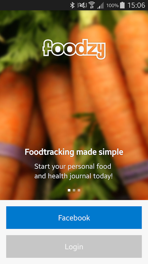 Foodzy- screenshot