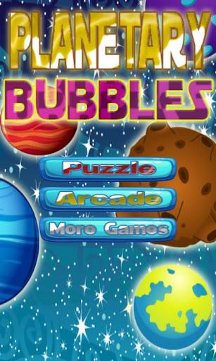 Planetary Bubbles