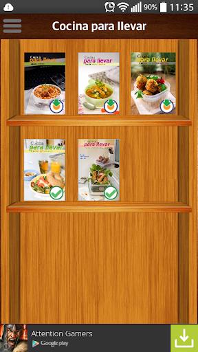 Cocina para llevar: recetas