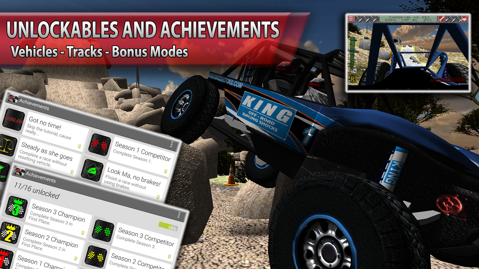 ULTRA4 Offroad Racing - screenshot