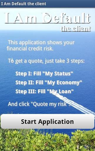Risk Estimater by I Am Default