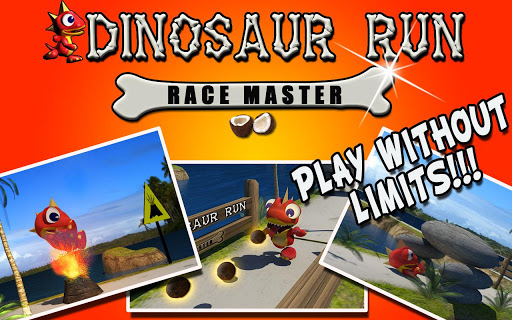 Dinosaur Run – Race Master