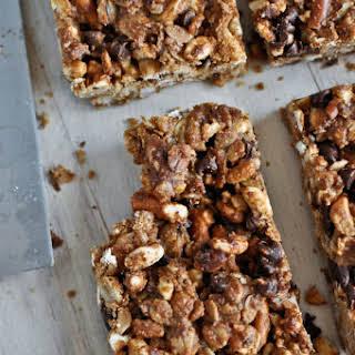 Peanut Butter Pretzel Granola Bars.