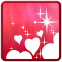 Sparkling Hearts ScreenSaver icon