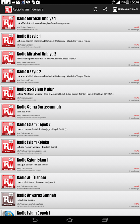 Radio Islam Indonesia - Android Apps on Google Play