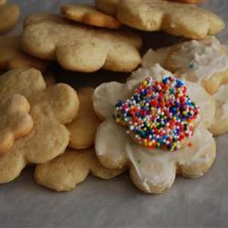 Irish Cream Sugar Cookies