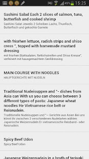 MenuTranslator-know your food! - screenshot thumbnail