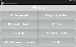 Screenshot of Woodwork