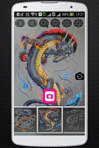 Dragon Tattoo Photo Booth