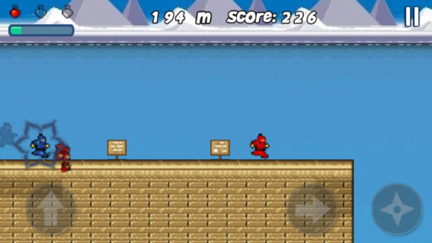 Ninja Run - screenshot