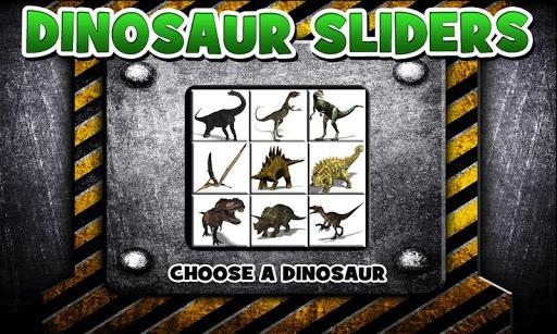 Dinosaur Sliders Puzzle