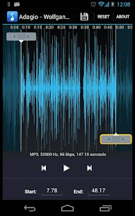 MP3 Ringtone Maker / Cutter- screenshot thumbnail