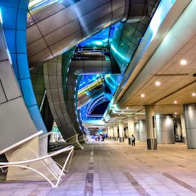 Dubai Airport by Wissam Chehade - Buildings & Architecture Architectural Detail ( mydubai, dubai, ariport, city )