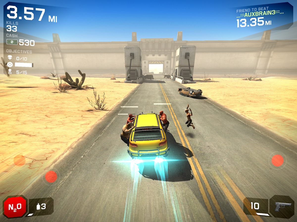 Screenshots of Zombie Highway 2 for iPhone
