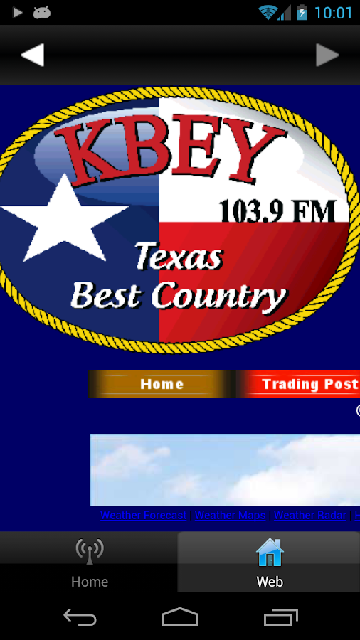 KBEY FM- screenshot
