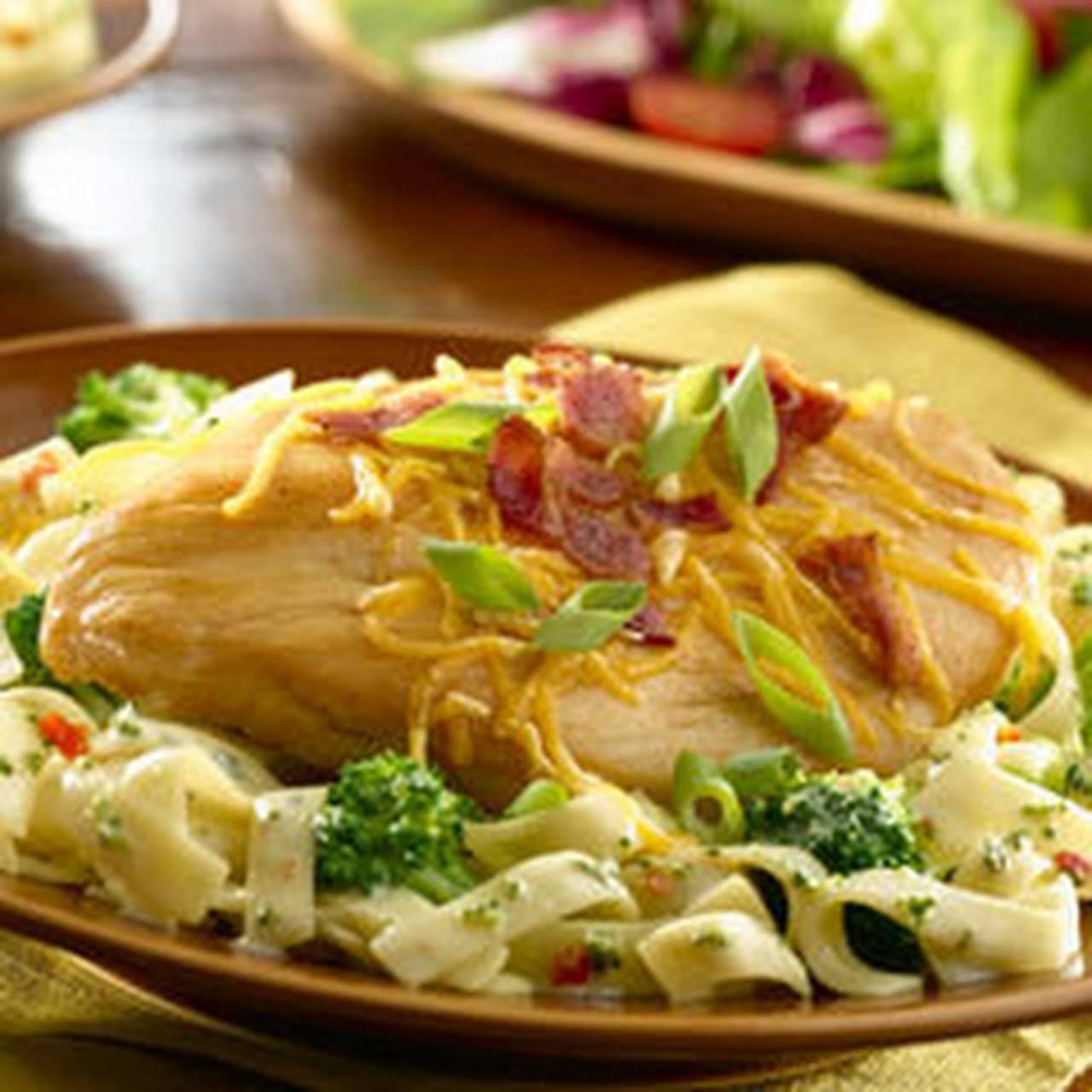 Loaded Chicken Broccoli Pasta