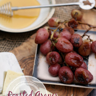 Roasted Grapes with Thyme Recipe